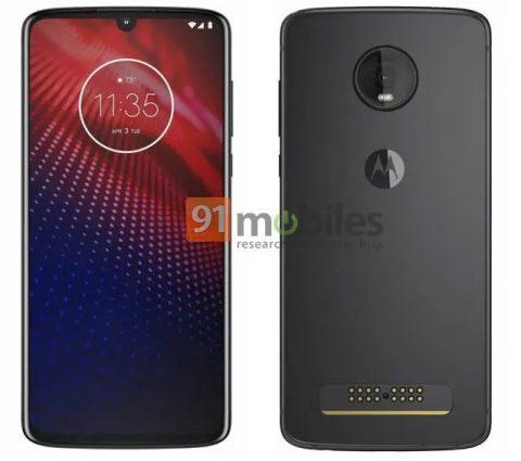 Moto Z4 : lesmartphone de Motorola se montre officieusement