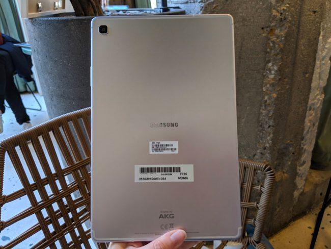 La Samsung Galaxy Tab S5e © LaboFnac