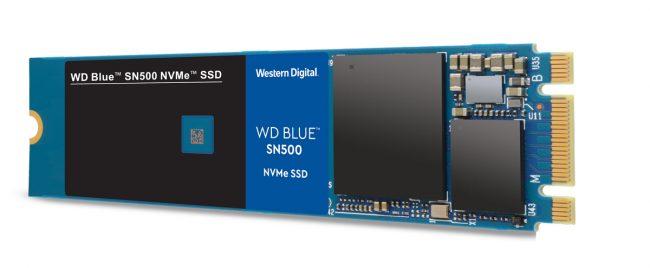 Western Digital WD Blue SN500 NVMe SSD