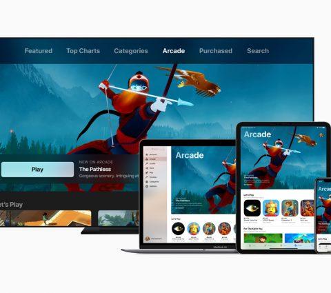 Arcade : Apple présente son service de jeu vidéo par abonnement