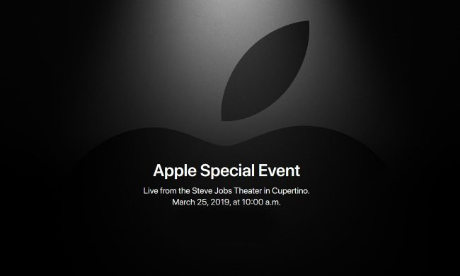 Apple keynote 25 mars 2019