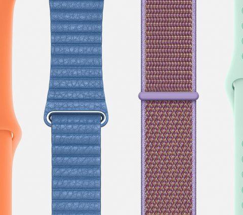 Apple célèbre le printemps avec de nouveauxbracelets Apple Watch et des coques iPhone