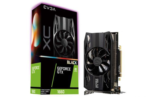 La GeForce GTX 1660 XC BLACK GAMING © EVGA