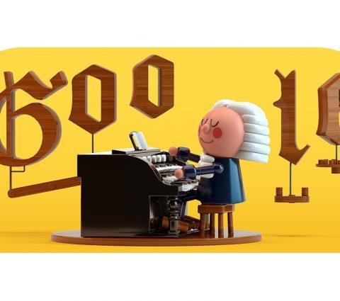 Google rend hommage à Bach avec un Doodle dopé à l'IA