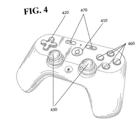 Projet Yeti : la manette de la console de cloud gaming de Google se dévoile dans un brevet