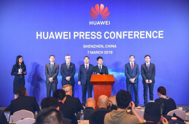Huawei conférence de presse