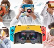 Nintendo se lance dans la VR avec la Switch et un kit Nintendo Labo dédié