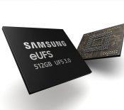 Samsung entame la production en masse de puces eUFS 3.0 de 512 Go