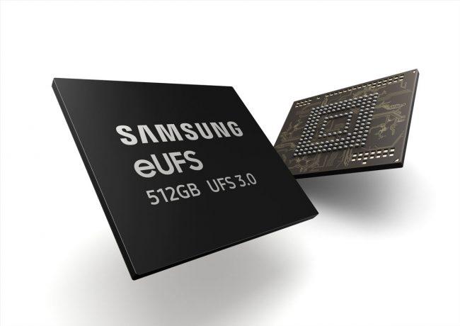 Samsung eUFS 3.0 512 Go