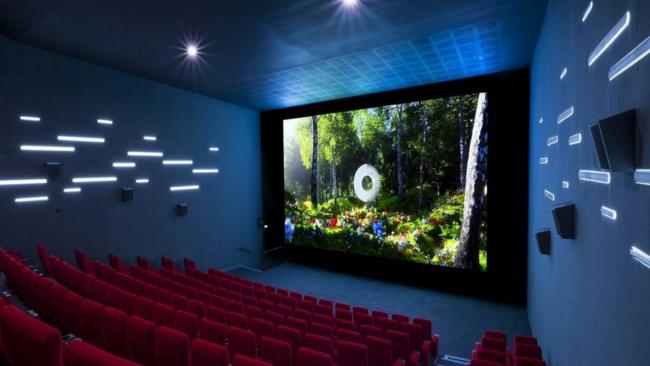 Écran Samsung Ony Cinema LED au cinéma Pathé Gaumont Beaugrenelle