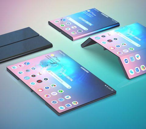 Samsung a breveté un smartphone pliable similaire au modèle de Xiaomi