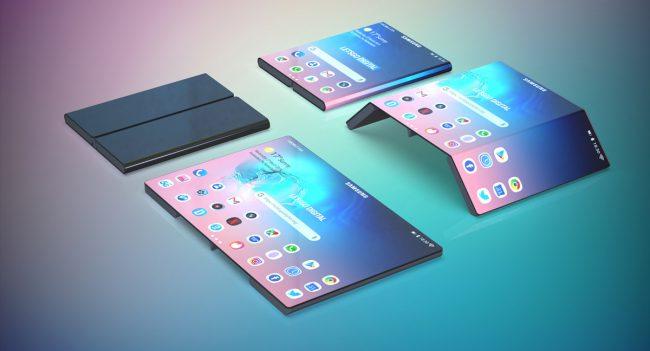 brevet smartphone pliable Samsung