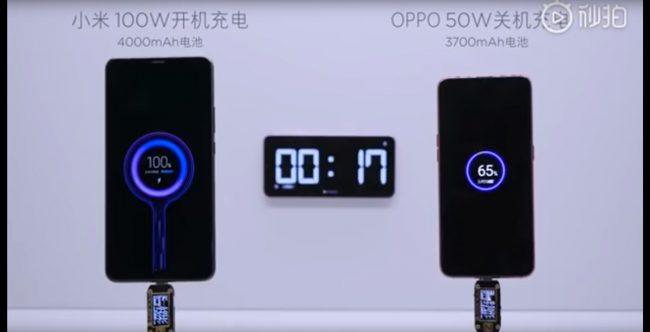 La technologie Super Charge Turbo de Xiaomi © Capture d'écran