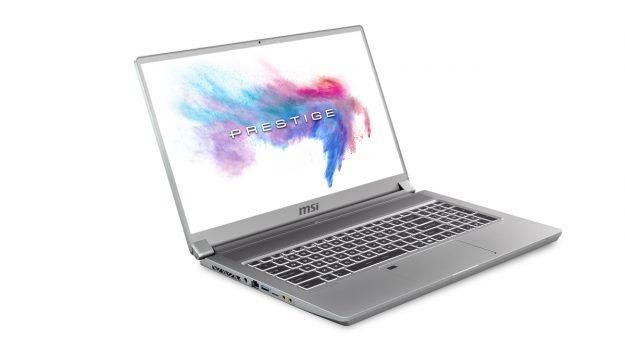 MSI dévoile les P65 et P75 Creator équipésdes nouveaux processeurs Intel Core i9