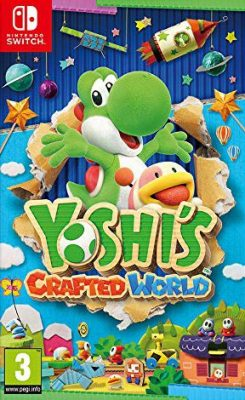 Test de Yoshi's Crafted World : La plate-forme recto-verso