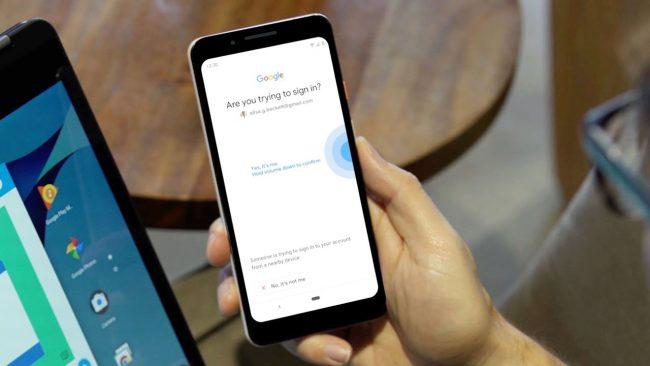smartphone android clé sécurité