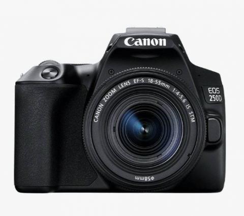 Canon présente l'EOS 250D, son nouvel appareil d'entrée de gamme
