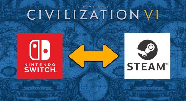 Civilization VI propose le cross-save entre PC et Nintendo Switch