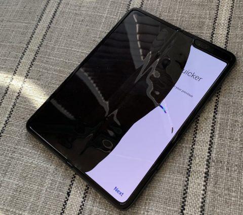 Samsung Galaxy Fold : des problèmes d'écran pour le smartphone pliable