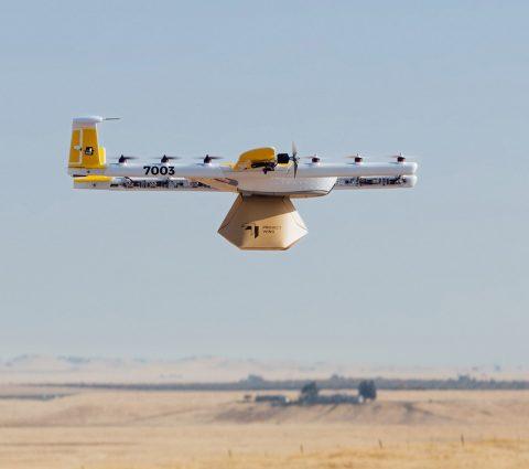Wing : les drones de Google vont pouvoir livrer des colis aux États-Unis
