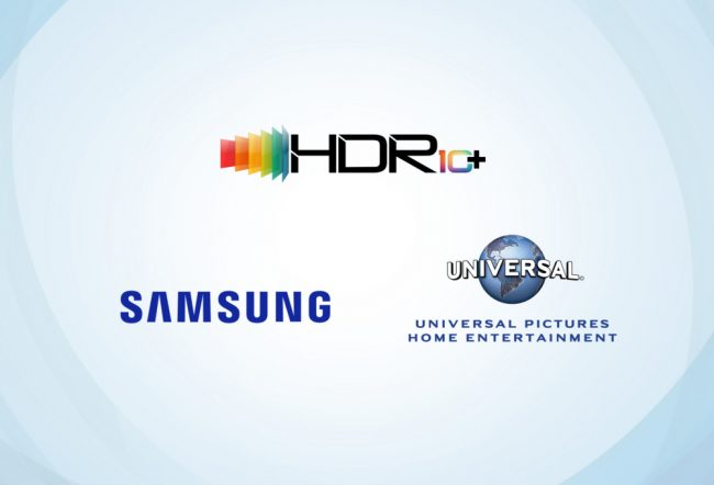 HDR10+ Samsung & Universal Pictures