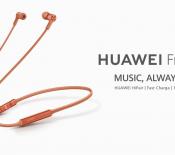 Huawei Freelace : des écouteurs sans fil en plus des P30 et P30 Pro