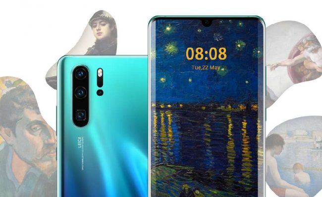 Huawei P30 services