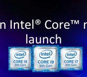 Intel fait le plein de nouveaux processeurs mobiles et de bureau