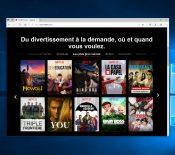 Microsoft Edge (Chromium) resterait le seul navigateur à supporter Netflix en 4K