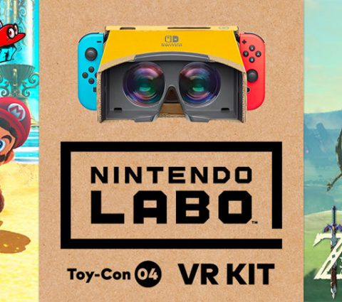 Avec le Nintendo VR Kit, Zelda et Super Mario Odyssey se mettent à la réalité virtuelle