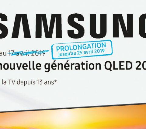 Samsungprolongeson ODR pour ses TV QLED 2019 et Ultra HD