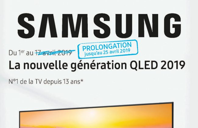 Samsung ODR TV QLED