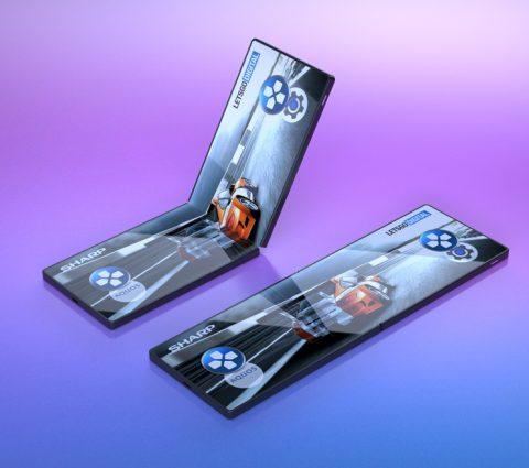 Sharp envisage un smartphone pliable orienté vers le jeu
