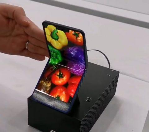 Le smartphone pliable de Sharp se dévoile sous la forme d'un prototype