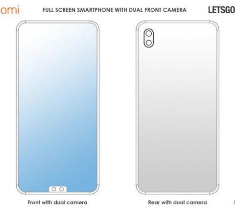 Xiaomi songe à déplacer l'encoche en bas de l'écran de son futur smartphone