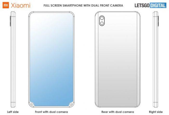 Xiaomi smartphone encoche bas