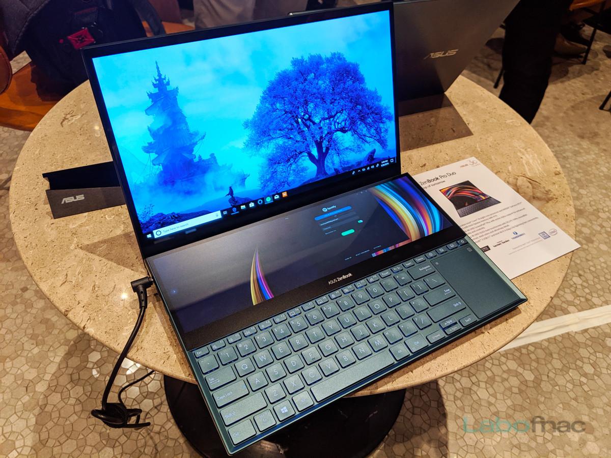 Computex 2019 - Asus ZenBook Pro Duo : quand le ScreenPad