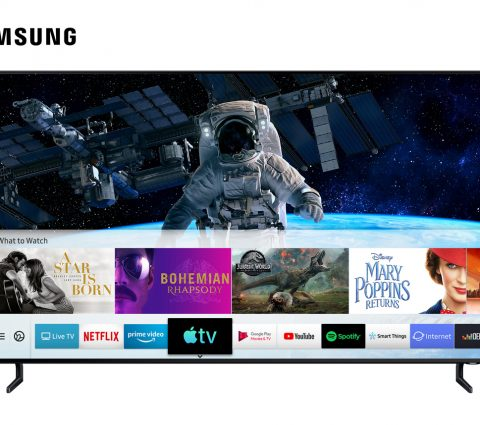 L'application Apple TV et AirPlay 2 débarquent sur les téléviseurs Samsung