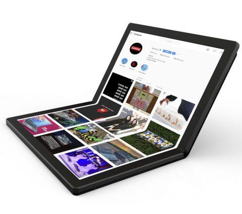 Thinkpad X1 : Lenovo signe le premier PC portable à écran pliable