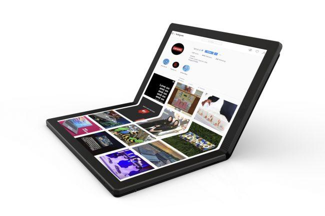 Lenovo PC portable pliable