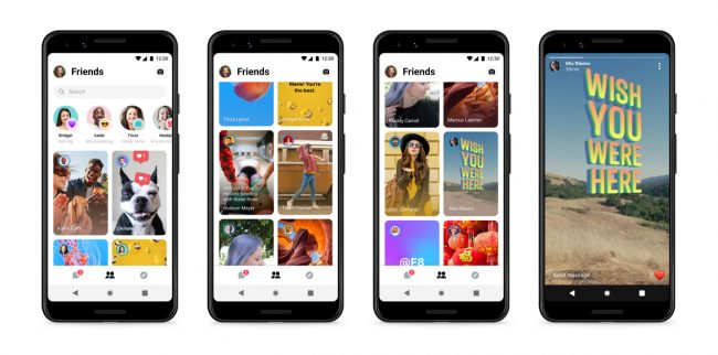 Messenger amis proches