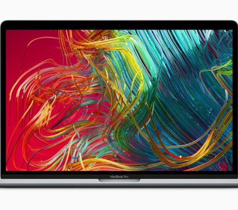 Apple dévoile le premier MacBook Pro huit cœurs et revoit son clavier