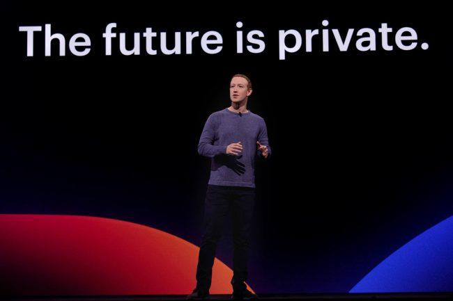 Mark Zuckerberg Facebook vie privée