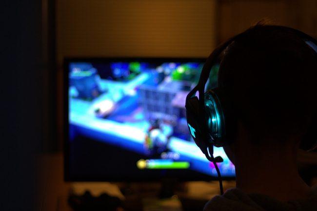 gamer joueur