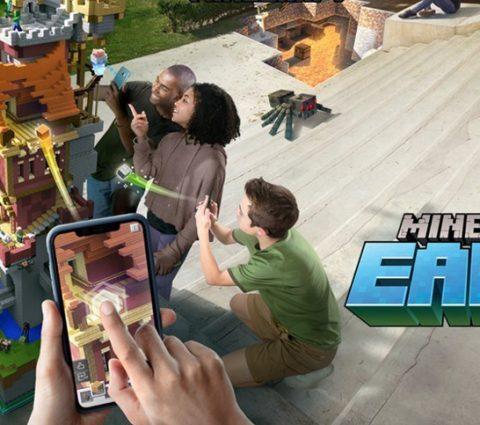 Minecraft Earth : un jeu mobile en réalité augmentée pour fêter les dix ans