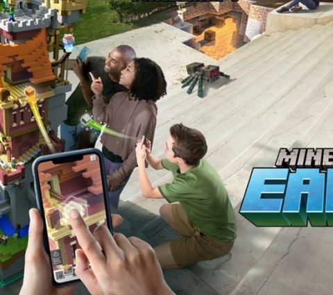 Minecraft Earth sera bientôt disponible en accès anticipé