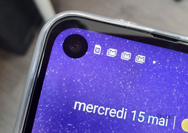 Prise en main Motorola One Vision