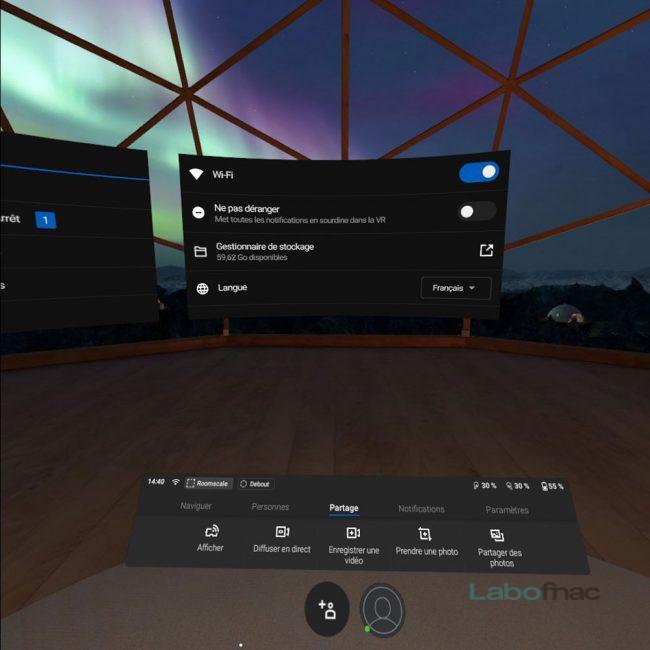 Prise en main Oculus Quest
