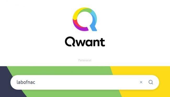 © Capture d'écran (qwant.com)