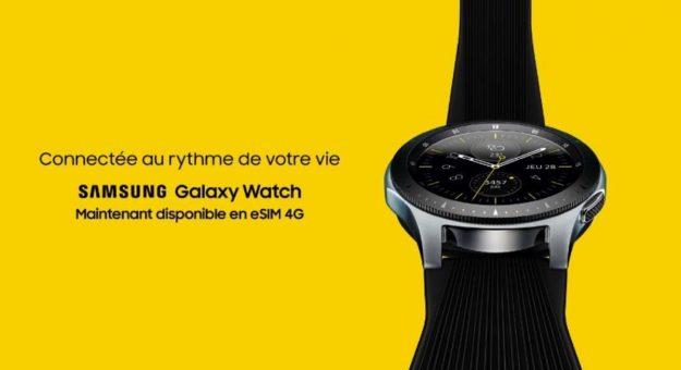 Samsung Galaxy Watch : la version 4Gest disponible en France